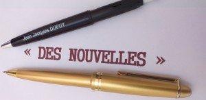 DES NOUVELLES.1